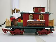 New Bright Holiday Express 384 Santa's Toy Shop Christmas Train Car G Scale