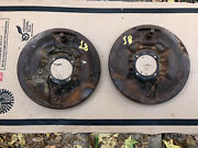 1935 1936 Ford Front Backing Plates Brakes Axle Steering Coupe Tudor 35 36 18