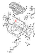 Genuine Vw Seat Exhaust Manifold With Turbocharger Economy Jza145703ax