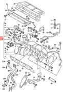Genuine Audi Seat A4 Avant S4 Exhaust Manifold With Turbocharger 06d145701j
