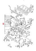 Genuine Vw Polo Derby Vento-ind Exhaust Manifold With Turbocharger 06f145702f