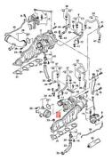 Genuine Audi A8 Exhaust Gas Turbocharger Water-cooled Side Left 079145721b