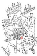 Genuine Audi Exhaust Gas Turbocharger 06a145704px