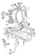 Genuine Vw Polo Fuel Tank With No Restricted Fuel Filler Neck 26mm 6q0201060g