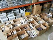 Massive Lot Of Slip Hooks Clevis Eye Bolts Pulleys Cleats S Hooks U Bolts And More