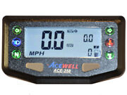 Acewell Ace-268 Digital Speedo Rpm Temp Fits Enduro And Trail Bike By Quad Tech