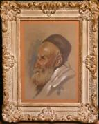 Watercolor Painted By Sallaheddin - Portrait Of Bedouin Very Nicely Done