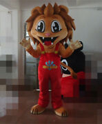 2020 New Lion Mascot Costume Suits Cosplay Party Game Dress Outfits Clothing Ad