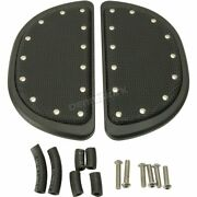 Cyclesmiths Passenger Floorboard Cover W/rivets - 106-sb