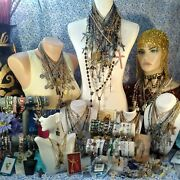 Mamas Estate Huge Lot Religious Jewelry Rosaries Accessories Vintage-now Hrel