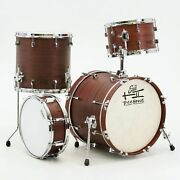 Treehouse Custom Drums 4-piece Mahogany Drumset