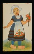 1920s Holland Cut-out Doll Fogelson's Better Bread Fogelson's Bakery Newton Nj