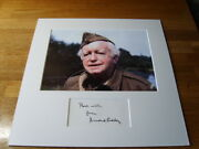 Dads Army Arnold Ridley Genuine Signed Authentic Autograph - Uacc / Aftal.