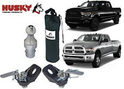 Husky Towing 33099 Gooseneck Trailer Hitch Ball And Tie Down Chains Kit New Usa