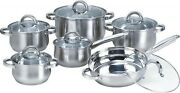 Heim Concept 2pc 12-piece Stainless Steel Cookware Sets