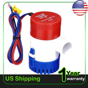 1100gph 12volt Electric Marine Submersible Bilge Sump Water Pump For Boat Yacht