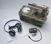 Rare Cammo Victoreen Cdv-700 6b Cold War Geiger Counter, Working Calibrated