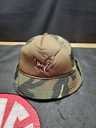 Vintage Winchester Flap Hat Thinsulate Goretex Size L Camo Made In Usa Youngan