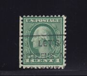 544 Scarce Psag Cert. Used Neat Light Cancel Nice Color Cv 3700 See Pic