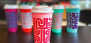 Starbucks - Sold Out Get By Xmas Reusable Hot Cups - Great Gift 3 Sets Left
