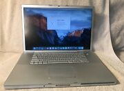 Macbook Pro 15 2.6 Ghz A1260 Early 2008 2gb Ram 250gb Hdd - No Battery