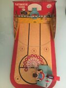 Vintage 1950and039s Marx Toys All Star Basketball Tin Game - Mark-o-matic With Balls
