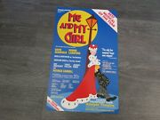 Bonnie Langford In Me And My Girl Fourth Year Original Adelphi Theatre Poster