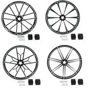 26and039and039 X 3.5and039and039 Front Wheel Rim Wheel Hub Dual Disc For Harley Road Glide 2008-2020