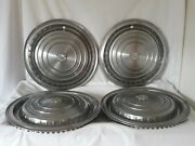 1960 Cadillac Deville Fleetwood 15 Hubcaps Wheel Covers Oem