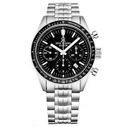 Revue Thommen 17000.6137 And039aviatorand039 Stainless Steel Chronograph Automatic Watch