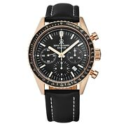 Revue Thommen Menand039s 17000.6567 And039aviatorand039 Rose-tone Chronograph Automatic Watch