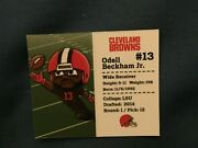 Nfl Teenymates Series 8 Pocket Profile Browns Odell Beckham Jr. Loose/new Aa1