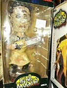 Vintage Neca Texas Chainsaw Massacre Leatherface Head Knockers Bobble Tower Excl