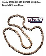 """Motorcycle Timing Chain 87-25h-90 Titan Performance Parts. 1/4"""" X 1/8"""" 90 Links"""