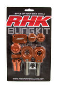 Husqvarna Te300 2014 -15 Rhk Pro Billet Orange Bling Kit Mx Bike Parts