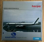 Herpa 1500 Douglas Dc-8-20 Eastern Airlines - Rare Collectible, Mib