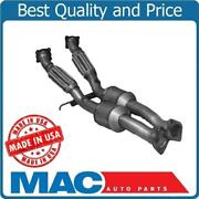 For 07-14 Volvo Xc90 3.2l Rear Under Car Converter And Flex Pipes Made In Usa