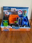 Blippi Talking Recycling Truck Garbage Recycle Vehicle New Release Gift Figureandnbsp