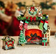 Scentsy 2020 Limited Edition Holiday Hearth Warmer 2443 / 25000