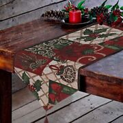 Christmas Table Runner Andndash Holiday Table Runners For Christmas Table Decorations
