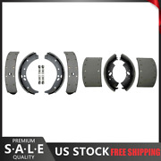 For 1980-1982 Ford C800 Front Rear Kit Drum Brake Shoes - Raybestos