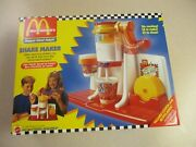 Mcdonalds Vintage Happy Meal Magic Shake Maker By Mattel - New In Sealed Box