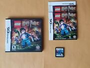 Lego Harry Potter Years 5-7 Nintendo Ds Video Game Lite Dsi Xl 3ds 2ds In Case