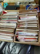 Vintage 60and039s/ 80and039s Random Lot Over 300 Christmas Cards Envelopes - Unused