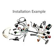 Full Electric Wiring Harness Coil Ignition Cdi For Quad Go Kart Scooter 50-125cc