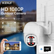 1080p Wireless Ip Security Outdoor Camera Home Cctv System Waterproof 1m Cable