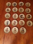 Lot Of 9 Hummel Annual Plates Series 1971- 1989 Excellent Condition