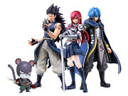 Fairy Tail X Bfull Figure Erza Gajil Gerald + Lily Limited Quantity New
