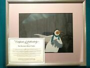 Wilbur Rescuers Down Under 1990 Disney Animation Hand Painted Production Setup