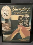 Yuengling Lager Beer Eagle Black And Tan Light Up Ad Sign Americas Oldest Brewery